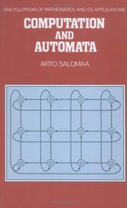 Computation and Automata