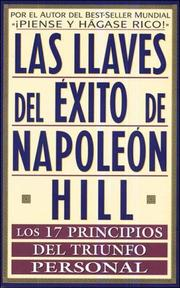 Cover of: Las Llaves Del Exito de Napoleon