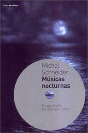 Cover of: Musicas Nocturnas