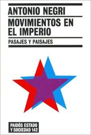 Cover of: Movimientos En El Imperio/ Movements in the Empire: Pasajes Y Paisajes / Passages and Landscapes (Estado Y Sociedad / State and Society)