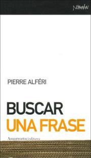 Cover of: Buscar Una Frase