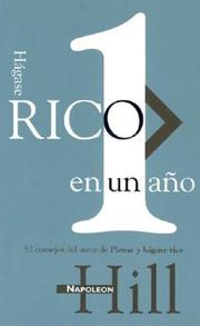 Cover of: Hágase rico en 1 año = A Year of Growing Rich