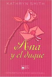 Cover of: Ana Y El Duque/anna And The King