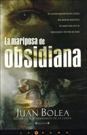 Cover of: La mariposa de obsidiana