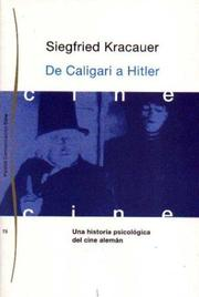 Cover of: From Caligari to Hitler