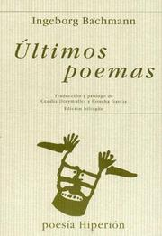 Cover of: Ultimos Poemas