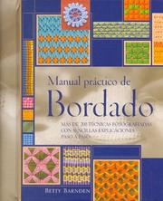 Cover of: La Biblia Del Bordado / Practical Embroidery Manual (Ilustrados) by Betty Barnden