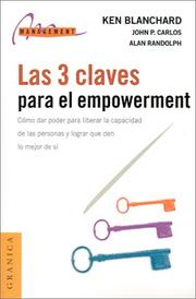 Cover of: Las Tres Claves Para El Empowerment