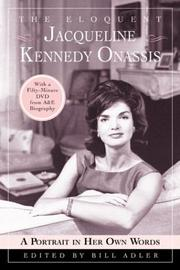 Cover of: The Eloquent Jacqueline Kennedy Onassis | Bill Adler