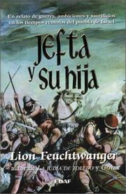 Cover of: Jefta y su hija