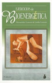 Cover of: Ejercicios De Bioenergetica (The Way to Vibrant Health)