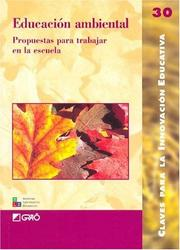 Cover of: Educacion Ambiental