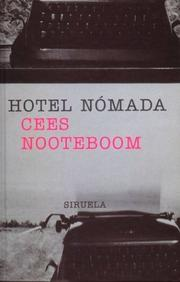 Cover of: Hotel Nomada