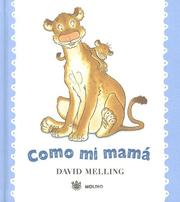 Cover of: Como Mi Mama/ Like My Mom