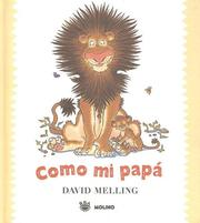 Cover of: Como Mi Papa/ Like My Dad