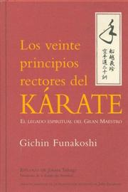 Cover of: Los Veinte Principios Rectores del Karate