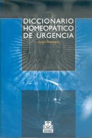Cover of: Diccionario Homeopatico de Urgencias
