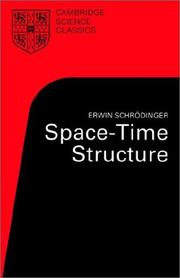 Space-time structure by Erwin Schrödinger