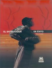 Cover of: Entrenador de Exito