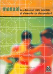 Cover of: Manual de Educacion Fisica Adaptada al Alumno Con Discapacidad by Mercedes Rios Hernandez