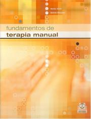 Cover of: Fundamentos de Terapia Manual (Terapia Manual Pasiva) by Heiko Dahl, Achim Rossier