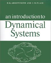 Cover of: An introduction to dynamical systems | D. K. Arrowsmith