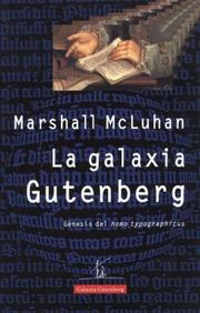 Cover of: Galaxia Gutemberg, La