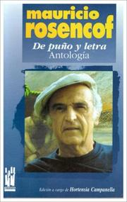 Cover of: de Puo y Letra - Antologia