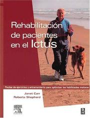Cover of: Rehabiltacion de Pacientes en el Ictus