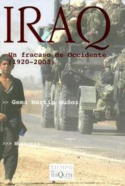 Cover of: Iraq: Un Fracaso De Occidente (1920-2003)