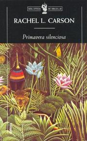 Cover of: Primavera Silenciosa