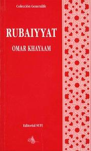 Cover of: Rubaiyyat