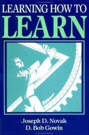 Cover of: Learning how to learn