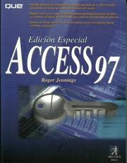 Cover of: Edicion Especial Access 97