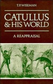 Cover of: Catullus and his World