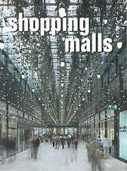 Cover of: Shopping Malls (Architectural Design)