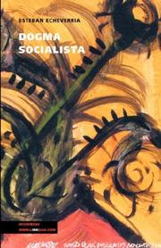 Cover of: Dogma socialista