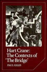 Hart Crane by Paul Giles