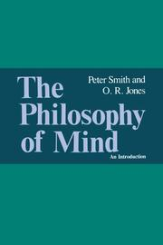 Cover of: The philosophy of mind | Smith, Peter