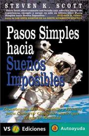 Cover of: Pasos Simples Hacia Sueños Imposibles / Simple Steps to Impossible Dreams