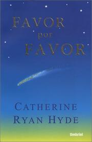 Cover of: Favor por favor