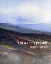 Cover of: Un asunto privado