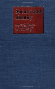 Cover of: Society and identity