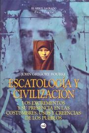 Cover of: Escatologia y Civilizacion