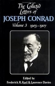 Cover of: The Collected Letters of Joseph Conrad