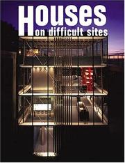 Cover of: Houses On Difficult Sites