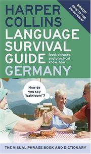 Cover of: HarperCollins Language Survival Guide: Germany