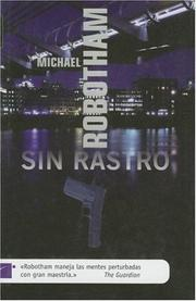 Cover of: Sin Rastro / Lost