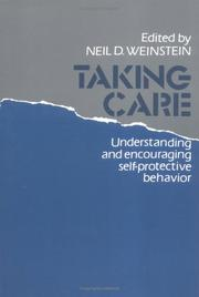Cover of: Taking care |