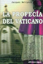 Cover of: La Profecia Del Vaticano/ the Vatican's Prophecy